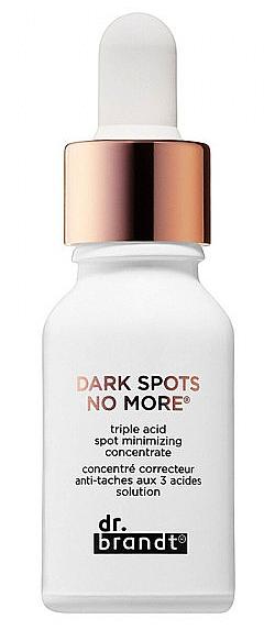 Korrigierendes Gesichtskonzentrat gegen dunkle Pigmentflecken - Dr. Brandt Dark Sports No More Concentrate