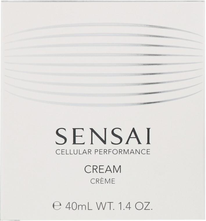Reichhaltige und feuchtigkeitsspendende Gesichtscreme für normale, trockene und empfindliche Haut - Kanebo Sensai Cellular Performance Cream — Bild N2