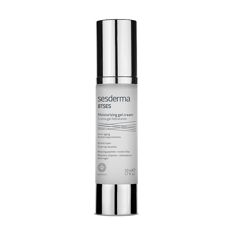 Feuchtigkeitsspendendes Anti-Falten Gesichtscreme-Gel - SesDerma Laboratories BTSeS Antiwrinkle Moisturizing Cream-Gel — Bild N1