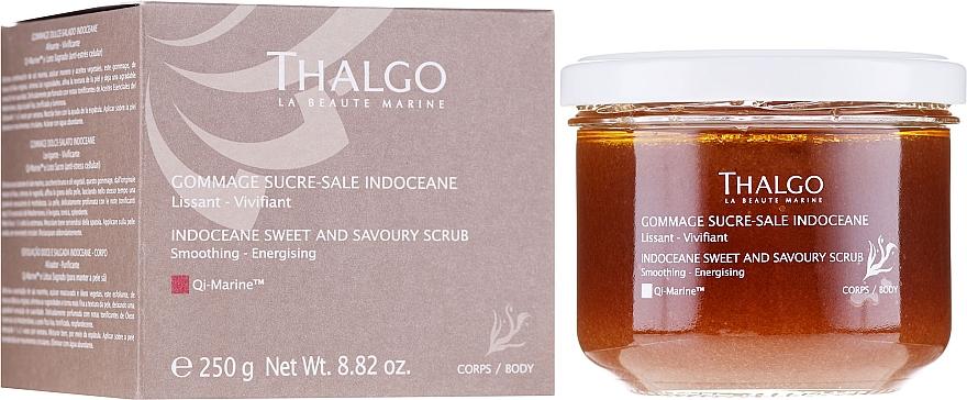 Körperpeeling mit Meersalz, braunem Zucker und ätherischen Pflanzenölen - Thalgo Sweet and Savoury Body Scrub — Bild N1