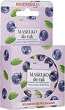 Düfte, Parfümerie und Kosmetik Handbutter Blaubeere - Bielenda Hand Butter Regenerating Blueberry