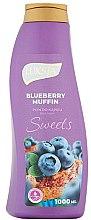Düfte, Parfümerie und Kosmetik Badeschaum mit Himbeermuffin-Duft - Luksja Sweets Blueberry Muffin Bath Foam