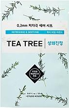 Düfte, Parfümerie und Kosmetik Erfrischende und beruhigende Gesichtsmaske mit Teebaumextrakt - Etude House Therapy Air Mask Tea Tree