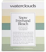 Düfte, Parfümerie und Kosmetik Aufhellungspulver für natürliche Reflexionen, Schattierungen und Balayage - Waterclouds Snow Bleach Freehand