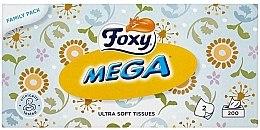 Düfte, Parfümerie und Kosmetik Extra weiche Tücher 200 St. - Foxy Mega Ultra Soft Wipes