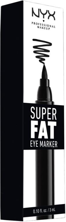 Super dicker Eyeliner - NYX Professional Makeup Super Fat Eye Marker — Bild N2