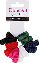 Düfte, Parfümerie und Kosmetik Haargummis Farb-Mix 12 St. - Donegal Ponytail Holder Mix