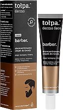 Düfte, Parfümerie und Kosmetik Konzentriertes Bartöl mit Hanf und Leinsamen - Tolpa Dermo Men Barber Oil
