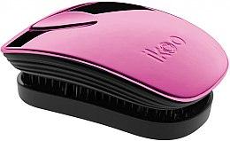 Düfte, Parfümerie und Kosmetik Haarbürste - Ikoo Pocket Cherry Metallic Black