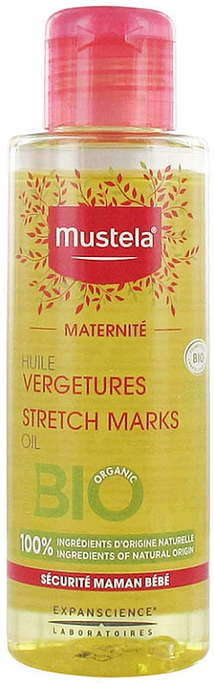 Parfümfreies Körperöl gegen Dehnungsstreifen - Mustela Maternity Stretch Marks Oil Fragrance-Free