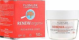 Düfte, Parfümerie und Kosmetik Anti-Falten Tagescreme LSF 10 - Floslek Odnowa Argan+ 50+