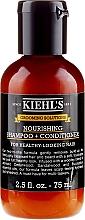 Düfte, Parfümerie und Kosmetik Pflegendes Shampoo und Conditioner - Kiehl`s Grooming Solutions Nourishing Shampoo + Conditioner