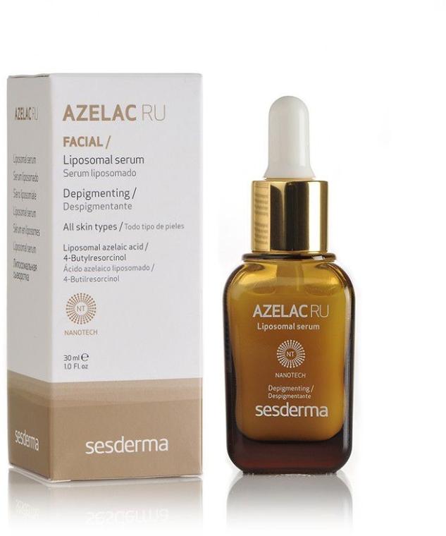Liposomales Gesichtsserum gegen Pigmentflecken - SesDerma Laboratories Azelac Ru Liposomal Serum — Bild N2