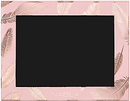 Düfte, Parfümerie und Kosmetik Leere Magnet-Palette rosa - Nabla Liberty Six Customizable Palette