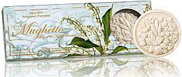 Düfte, Parfümerie und Kosmetik Naturseifen-Geschenkset - Saponificio Artigianale Fiorentino Lily Of The Valley Scented Soap