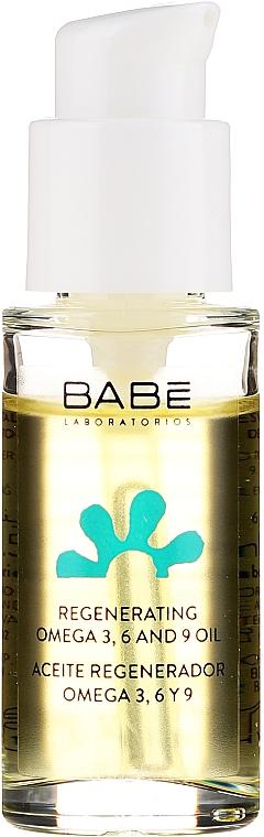 Regeneriernedes und nährendes Muskatrosenöl für das Gesicht mit Omega 3, 6 und 9 - Babe Laboratorios Regenerating Rosa Moschata Oil — Bild N2