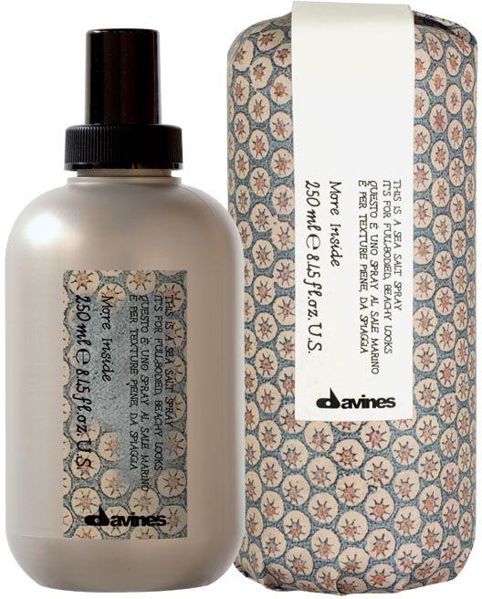 Texturierendes Haarspray mit Meersalz für mehr Volumen - Davines More Inside Sea Salt Spray — Bild N1