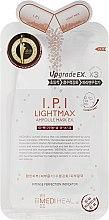 Düfte, Parfümerie und Kosmetik Aufhellende Tuchmaske für das Gesicht mit Kollagen und Hyaluronsäure - Mediheal I.P.I Lightmax Ampoule Mask Ex
