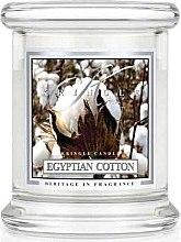 Düfte, Parfümerie und Kosmetik Duftkerze im Glas Egyptian Cotton - Kringle Candle Egyptian Cotton