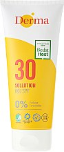 Düfte, Parfümerie und Kosmetik Sonnenschutz Lotion SPF 30 parfümfrei - Derma Sun Lotion SPF30