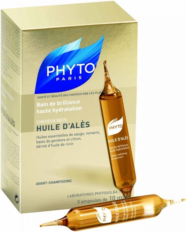 Intensiv feuchtigkeitsspendende Öl-Kur für das Haar - Phyto Huile D'Ales — Bild N1