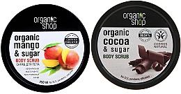 Düfte, Parfümerie und Kosmetik Körperpflegeset - Organic Shop (Körperpeeling 2x250ml)