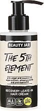 Düfte, Parfümerie und Kosmetik Regenerierende Haarcreme mit Arganöl, Kokosöl und Vitamin B5 - Beauty Jar Recovery Leave-In Hair Cream