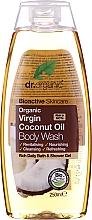 Düfte, Parfümerie und Kosmetik Bade- und Duschgel mit Bio Kokosnussöl - Dr. Organic Bioactive Skincare Organic Coconut Virgin Oil Body Wash