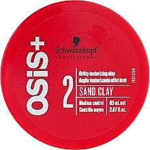 Düfte, Parfümerie und Kosmetik Stylinglehm Mittlerer Halt - Schwarzkopf Professional Osis+ Texture Sand Clay