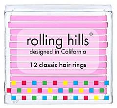 Düfte, Parfümerie und Kosmetik Haargummis rosa - Rolling Hills Classic Hair Rings Pink