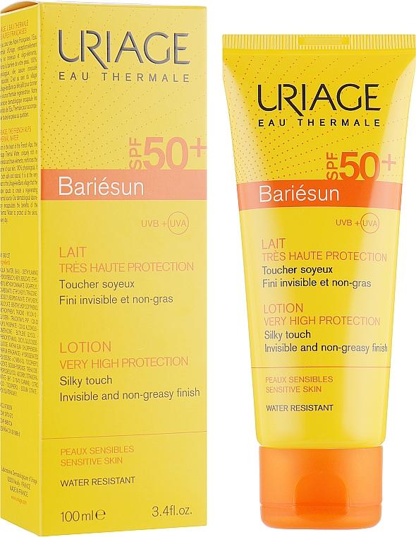 Getönte Sonnenschutzcreme für das Gesicht SPF 50+ hell - Uriage Suncare product — Bild N1