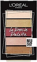 Düfte, Parfümerie und Kosmetik Lidschattenpalette - L'Oreal Paris La Petite Palette Nudist Eyeshadow