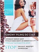 Düfte, Parfümerie und Kosmetik Kaffee-Peeling gegen Cellulite - Czyste Piekno