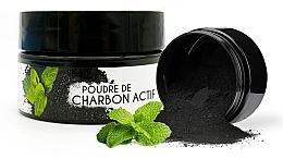 Düfte, Parfümerie und Kosmetik Aufhellendes Zahnpulver mit Aktivkohle und Minzgeschmack - Keeth Mint-flavoured Activated Charcoal Bleaching Powder