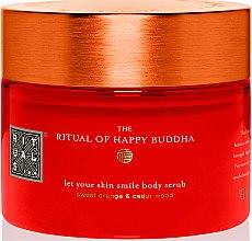 Düfte, Parfümerie und Kosmetik Körperpeeling mit süßer Orange und Sandelholz - Rituals The Ritual of Happy Buddha Body Scrub