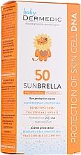 Düfte, Parfümerie und Kosmetik Sonnenschutzcreme für Kinder mit Bisabolol SPF 50+ - Dermedic Sunbrella Baby Sun Protection Cream SPF 50+