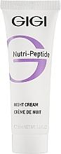 Düfte, Parfümerie und Kosmetik Regenerierende und feuchtigkeitsspendende Anti-Falten Nachtcreme mit Peptidkomplex - Gigi Nutri-Peptide Night Cream