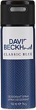 Düfte, Parfümerie und Kosmetik David Beckham Classic Blue - Deospray