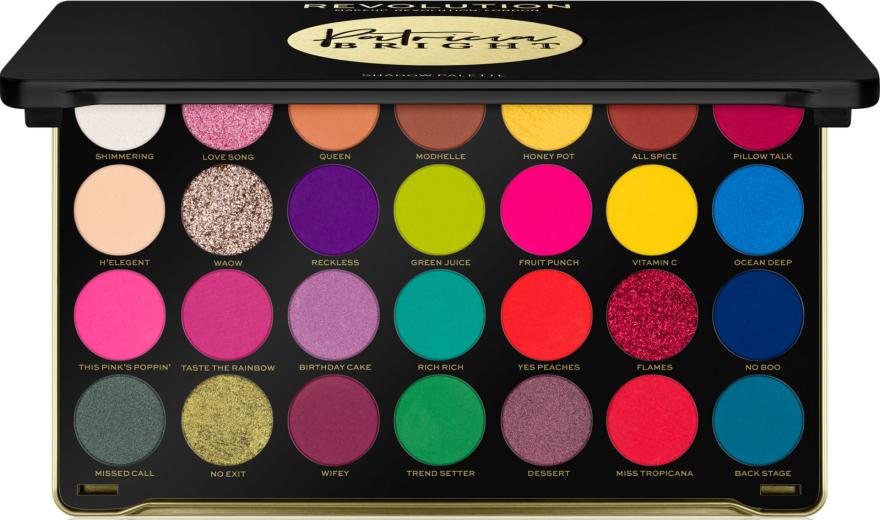 Lidschattenpalette - Makeup Revolution X Patricia Bright Eyeshadow Palette