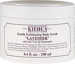 Düfte, Parfümerie und Kosmetik Sanftes Körperpeeling mit Lavendel, Aloe Vera und Kamille - Kiehl's Body Scrub Lavender