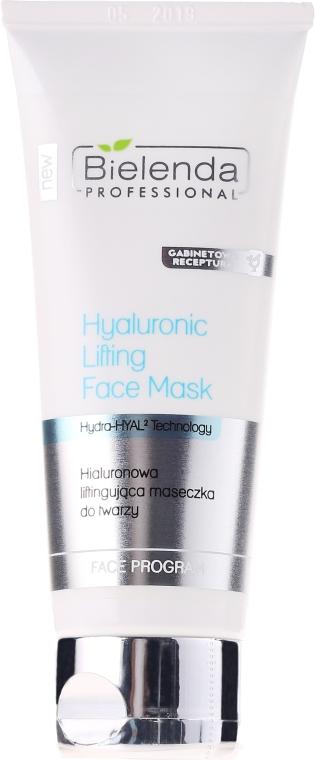 Straffende Hyaluronsäure-Gesichtsmaske - Bielenda Professional Hydra-Hyal Injection Hyaluronic Lifting Face Mask