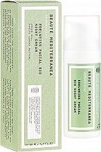 Düfte, Parfümerie und Kosmetik Nachtcreme mit Edelweiß-Extrakt - Beaute Mediterranea Edelweiss Facial Bio Night Cream
