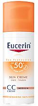 Düfte, Parfümerie und Kosmetik CC Creme - Eucerin CC-creme Sunscreen for face SPF 50+