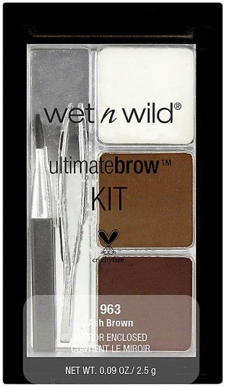 Augenbrauenset - Wet N Wild Ultimate Brow Kit