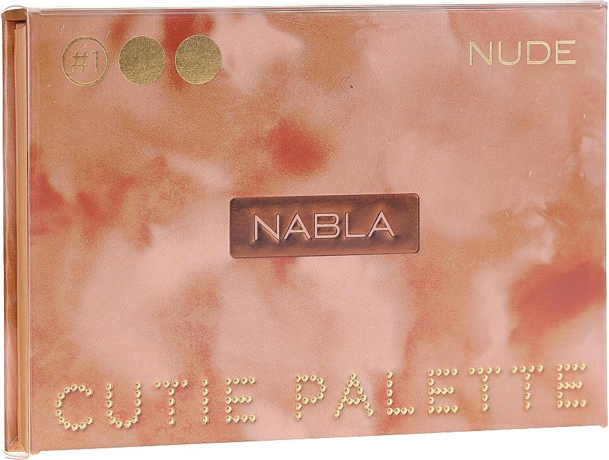Lidschattenpalette - Nabla Cutie Collection Palette Nude