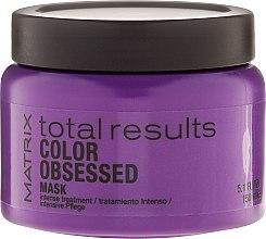 Düfte, Parfümerie und Kosmetik Regenerationsmaske für gefärbtes Haar - Matrix Total Results Color Obsessed Mask