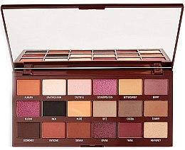 Düfte, Parfümerie und Kosmetik Lidschattenpalette - Makeup Revolution I Heart Revolution Cranberries & Chocolate Palette