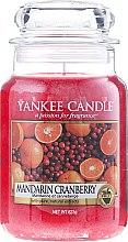 "Düfte, Parfümerie und Kosmetik Duftkerze im Glas ""Mandarin Cranberry"" - Yankee Candle Mandarin Cranberry"