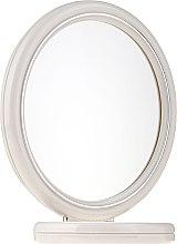 Düfte, Parfümerie und Kosmetik Standspiegel 15 cm 9502 weiß - Donegal Mirror