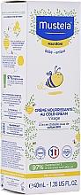 Düfte, Parfümerie und Kosmetik Nährende Gesichtscreme mit kalter Creme für Babys - Mustela Bebe Nourishing Cream with Cold Cream
